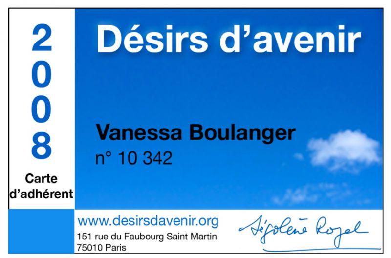 Adhérez à DA pour 2008 !